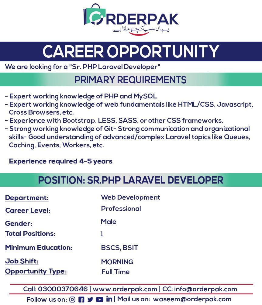 OrderPak Group Vacancy 2021 | 3