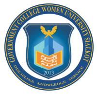 GC Women University Sialkot Jobs 2020