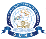 Dow University of Health Sciences Jobs 2020