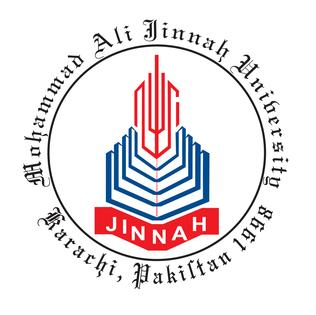 Mohammad Ali Jinnah university logo